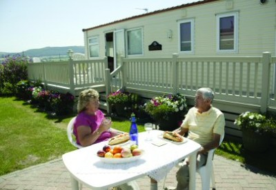 Model UK Private Static Caravan Holiday Hire At Ty Mawr Towyn Conwy North