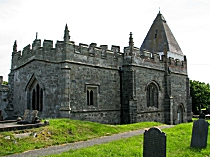 St Eilian's Church east and north elevations