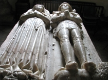 Alabaster carved tomb of Bulkeleys in Beaumaris Church