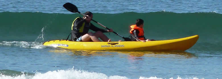 Sea Kayaking at Aberdaron, Llyn peninsula