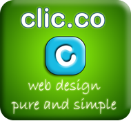 Click for more information on clic.co web design