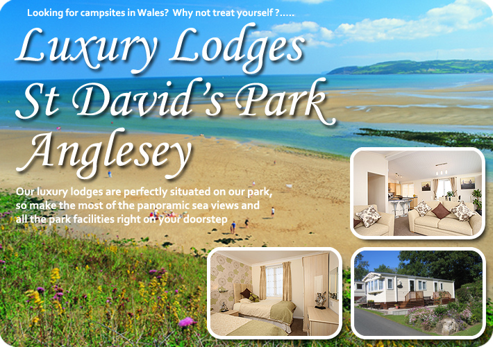 Click to for more information on St David's Park luxury lodges, Anglesey